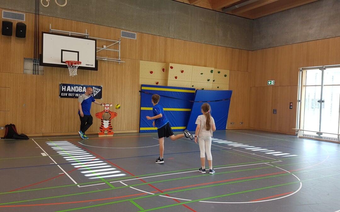 Handball-Schnuppertraining vomESV