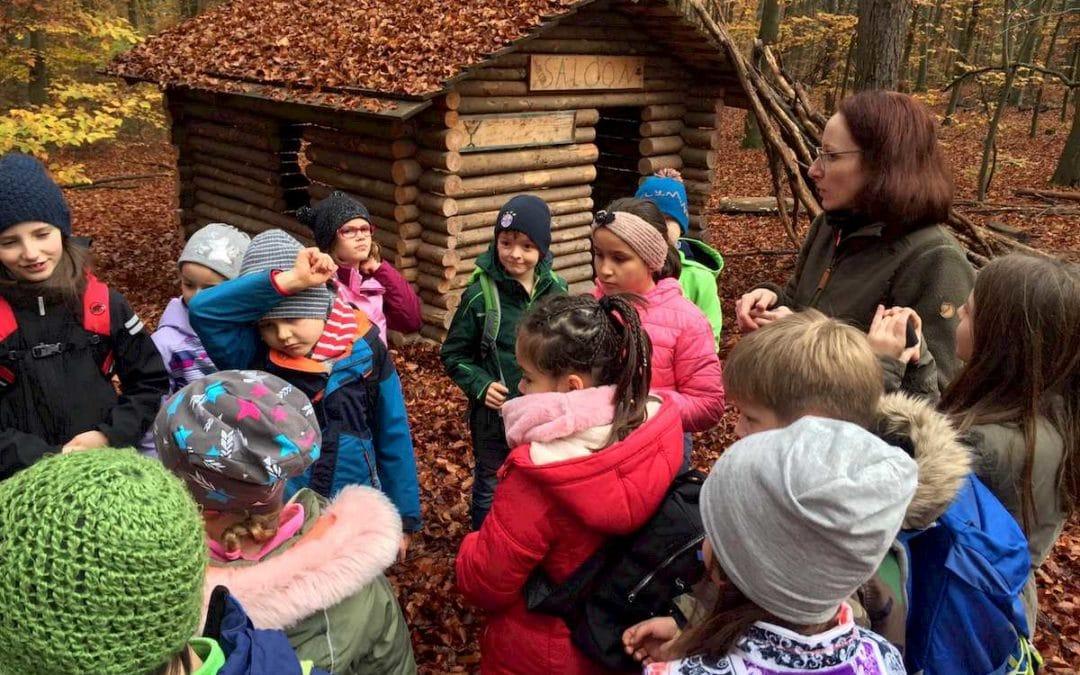 3. Klassen im Walderlebniszentrum