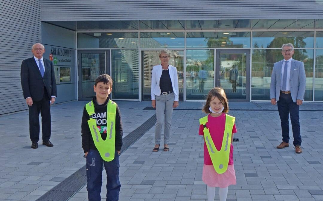 Verkehrssicherheit für unsere Schulanfänger